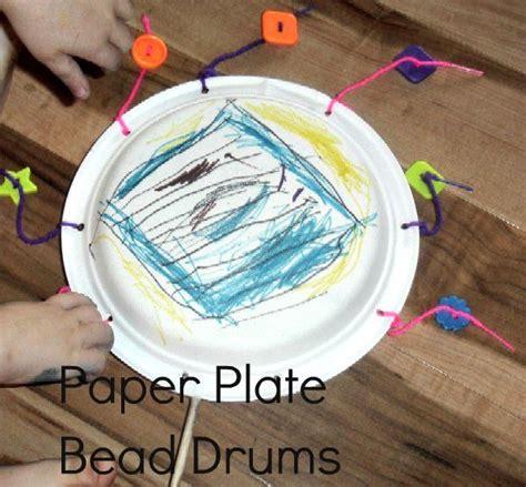 noisy week paper plate bead drums children s 260 | 5d7b707e384fb3fef73f377922949dc9