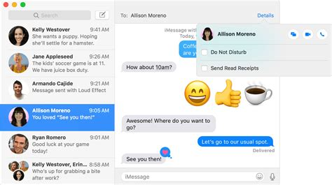 tips set  imessage  mac  iphone