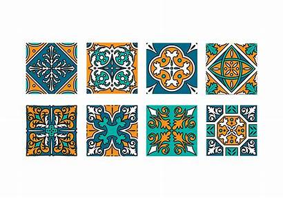 Tile Maroc Vecteezy Moroccan Tiles Pattern Clip