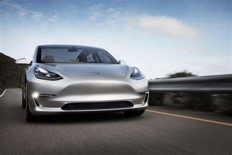 Foto's: Tesla Model 3 (concept)