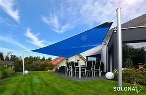 Sonnensegel Für Terrasse : garten terrasse und balkon solona sonnensegel ~ Sanjose-hotels-ca.com Haus und Dekorationen