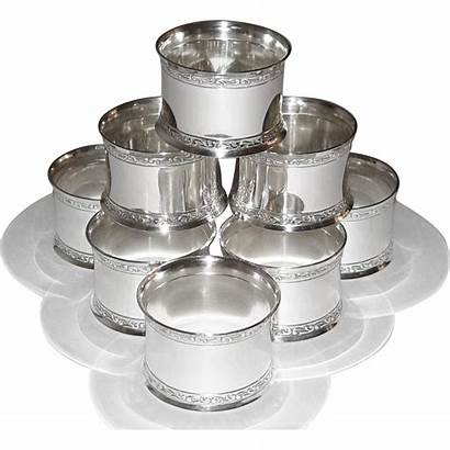 Napkin Silver Rings Sterling Holders Wallace Round