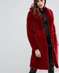 Fausse Fourrure Rouge : 50 manteaux en fausse fourrure moins de 100 ~ Teatrodelosmanantiales.com Idées de Décoration