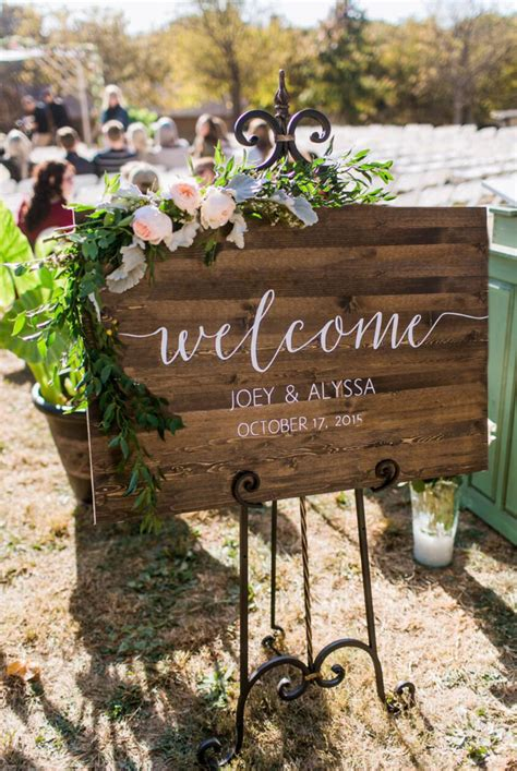 Wedding Signs by Wedding Welcome Sign Rustic Wood Wedding Sign