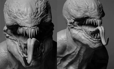 Venom Movie Concept Art Reveals Film's Alien Symbiote