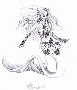 Evil Mermaid by daisyamnell on DeviantArt