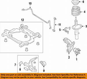 Ford Motorcraft Mef24 Oem Explorer Stabilizer Bar Link Gb5z