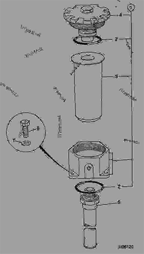 FILTER, HYDRAULIC - CONSTRUCTION JCB 801 - MINI-EXCAVATOR