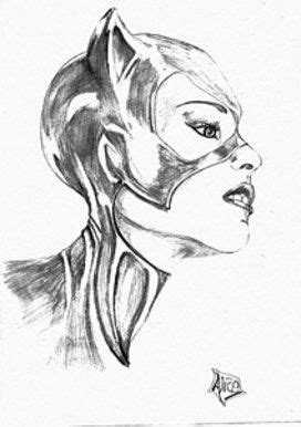 Catwoman drawing | Catwoman drawing, Art