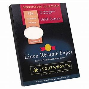 southworth cotton linen resume paper almond target With linen resume paper