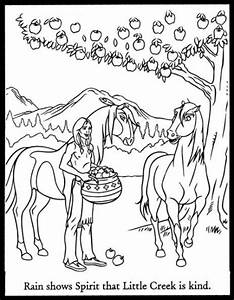 Spirit Stallion Of The Cimarron Coloring Pages