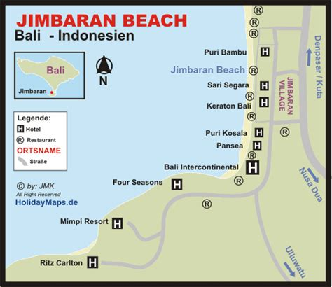 jimbaran beach map travel   jimbaran bali