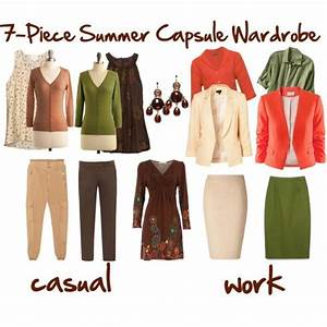 7 Piece Summer Capsule Wardrobe Ideas Style Spring