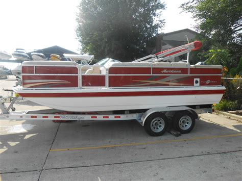 hurricane fundeck 196 o b 2014 for sale for 23 900