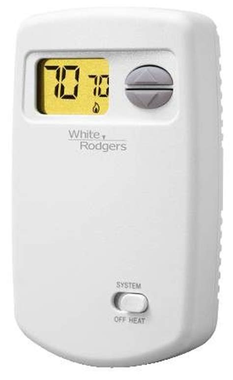 white rodgers 1e78 140 24v heat only electronic non