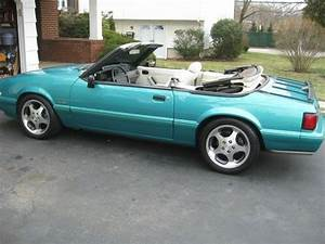 Sell used 93 mustang 5.0 5 speed fox body convertible supercharged fast standard like new in ...
