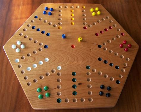 aggravation game board cherry wood aggravation board