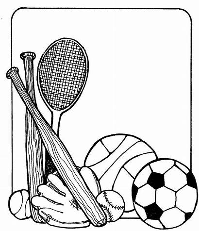 Clipart Sports Equipment Clipartion