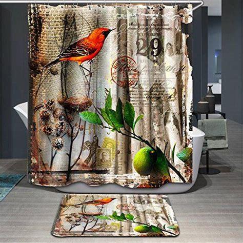 25 best bird shower curtain ideas on