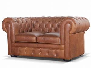 canape chesterfield 100 cuir vintage caramel londres With tapis design avec chesterfield canapé cuir