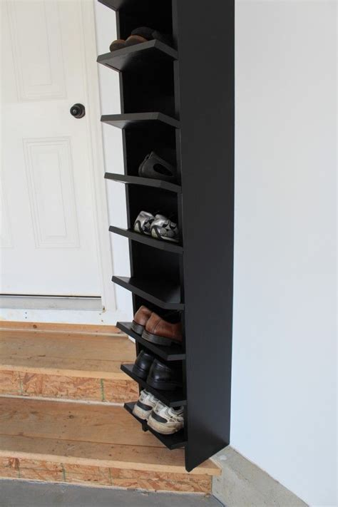 vertical shoe rack best 25 vertical shoe rack ideas on closet