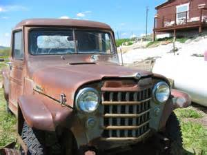 willys jeep truck green 1951 willys pickup truck jeep overland 4x4 pickup for