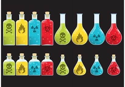 Poison Bottle Vectors Vector Sign Bottles Chemical
