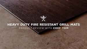 Heavy Duty Fire Resistant Grill Mat