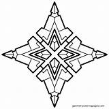 Geometric Coloring Pages Cool Geometry Simple Adult Star Easy Shapes Mandala Dash Printable Designs Pattern Pdf Colouring Clipart Shape Geometrical sketch template