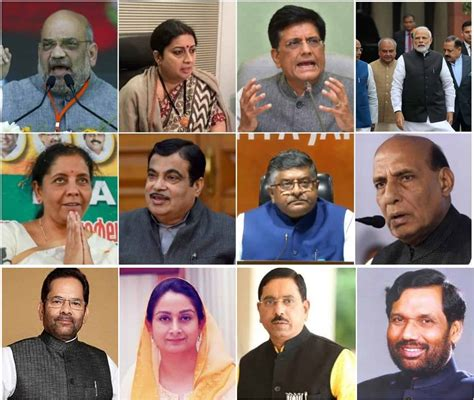 List Of Current Cabinet Ministers by List Of Ministers In Pm Modi S Cabinet Complete List Of