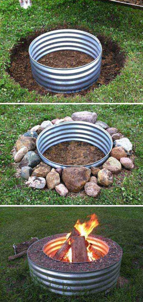 grillstelle selber bauen feuerstelle selber bauen diy feuerstelle feuerplatz im garten bauen anleitung eine