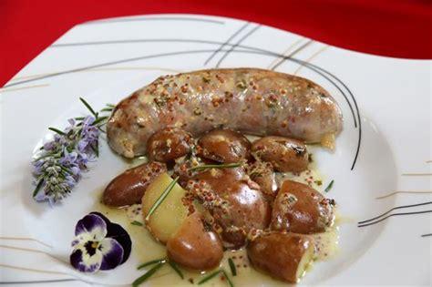 cuisiner l andouillette recette andouillette au vin blanc sauce moutarde à l