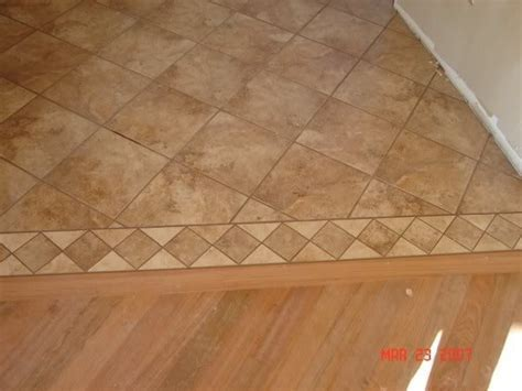 Tile To Linoleum To Tile   Tiling, ceramics, marble   DIY
