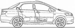 2006 Honda City Iv Zx Sedan Blueprints Free
