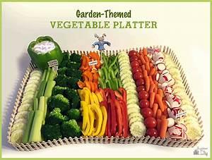 Garden Themed Vegetable Platter BugabooCity