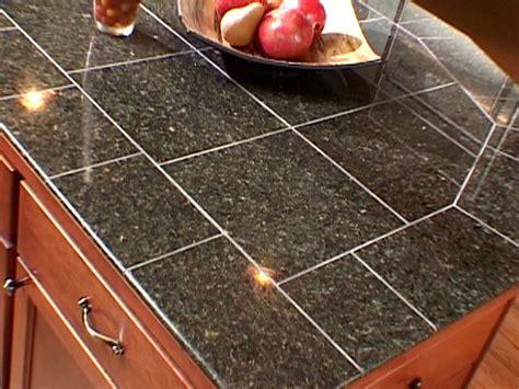 Kitchen Countertop Tile  Kitchen Ideas