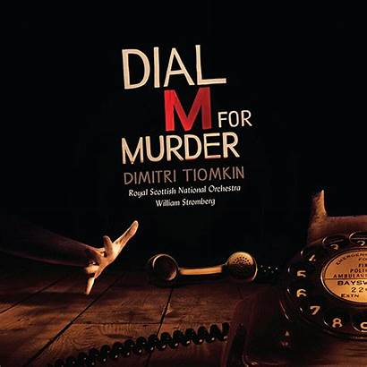 Dial Murder Soundtrack Intrada Tiomkin Motion Dimitri