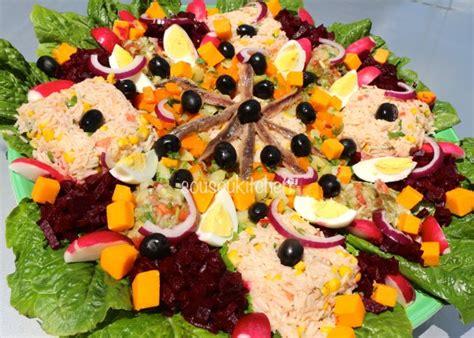 cuisine de sousou cuisine du maroc recette facile de salade composée