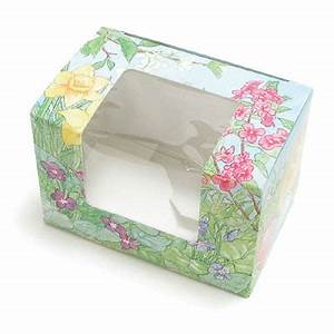 1 2 lb Easter Garden Egg Candy Box with Window 86 4480X