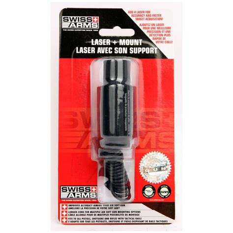 laser show swiss products swiss arms 174 laser accessory kit with mount and cord 423711 airsoft accessories at sportsman s