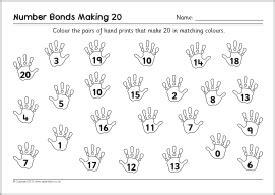 number bonds worksheets number alistairtheoptimist free worksheet for kids