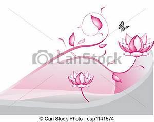 Dessin Fleurs De Lotus : dessin de lotus fleurs csp1141574 recherchez des illustrations clip art et des images ~ Dode.kayakingforconservation.com Idées de Décoration