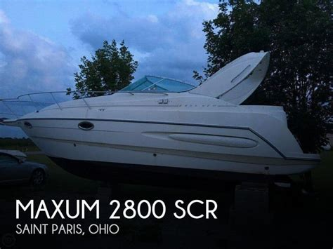 1999 Maxum Boat by Maxum 2800 Scr Boats For Sale