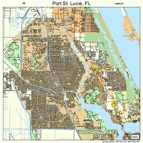 port st florida map 1258715