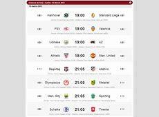 Partidos de hoy UEFA Europa League Deportes Taringa!