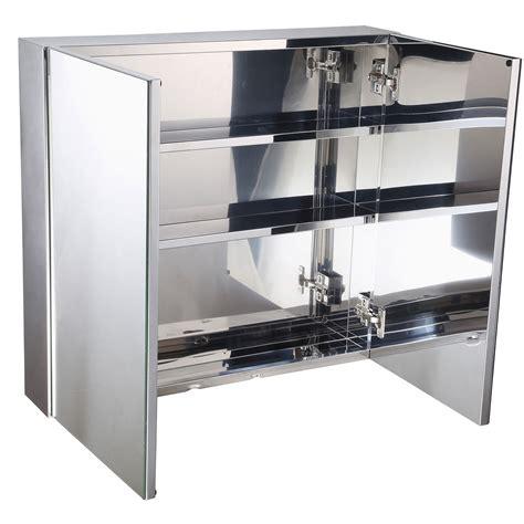 double door steel cabinet wall mount storage cabinet mirror double door stainless