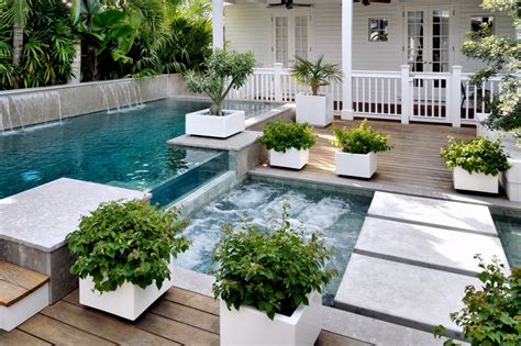 Small Backyard Pool Ideas - pool deck designs and options diy
