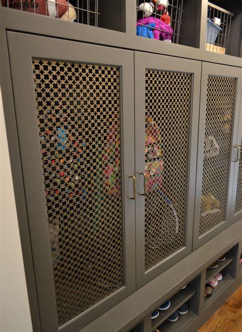 wire mesh kitchen cabinets wire mesh cabinet door panels a kitchen that 1558