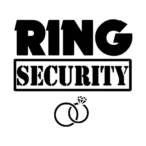 ring size l ring security ring security t shirt teepublic