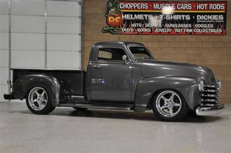 gunmetal gray metallic chevelle custom trucks for sale